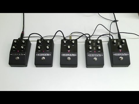 Moog Minifooger Analog Effects Overview w/ EP-3 (Guitar Demo)