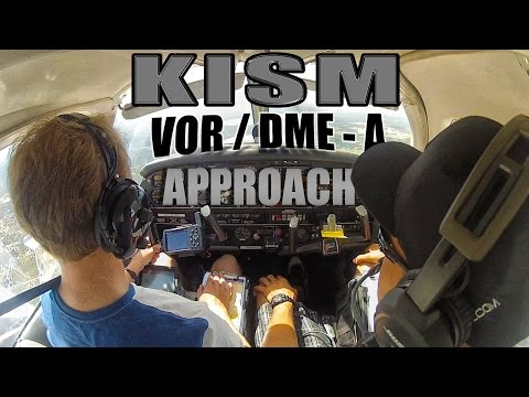 Flying into IMC | VOR/DME-A Kissimmee (KISM) | ATC Audio