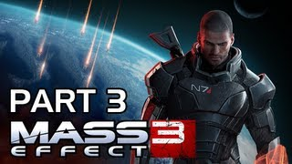 Mass Effect 3 Walkthrough - Part 3 Tram Sentry Gun Part 65 Fighter Escape PS3 XBOX 360 PC (Gameplay / Commentary)