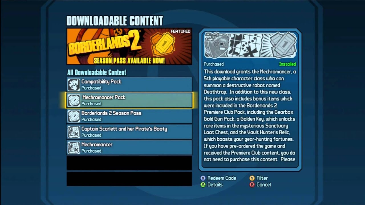 Borderlands 2 Pirate DLC FIX -