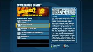 "Borderlands 2 Pirate DLC FIX - ""Not Downloaded"" Problem"