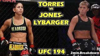 Tecia Torres vs Jocelyn Jones-Lybarger - Fight Analysis