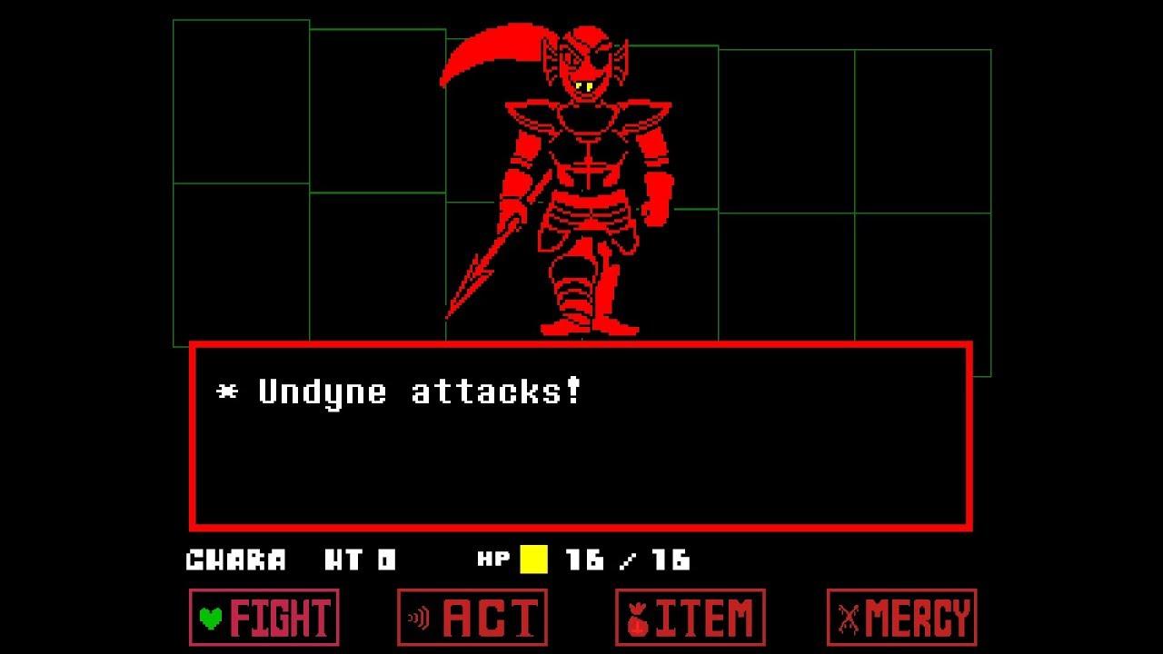 Underfell] Undyne fight - Thủ thuật máy tính - Chia sẽ kinh nghiệm