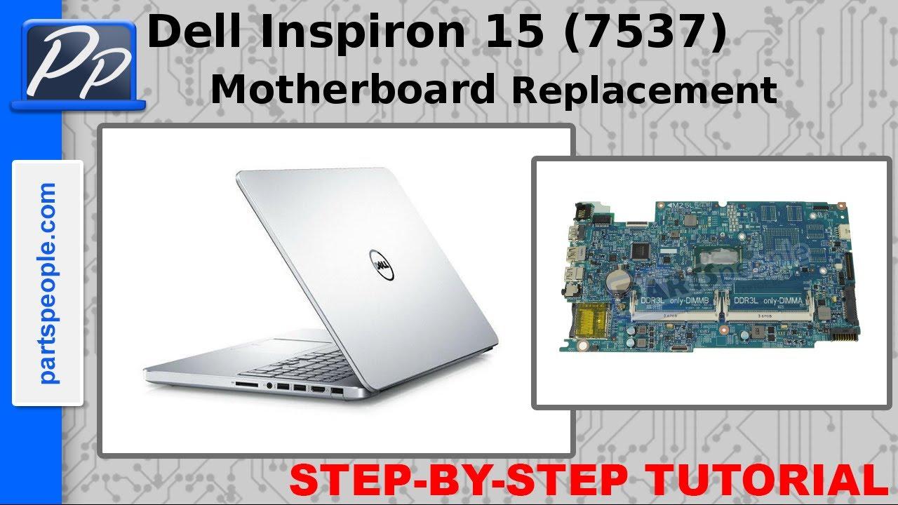 Dell Inspiron 15 (7537) Motherboard Video Tutorial Teardown