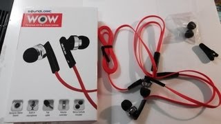 Sound Logic - Wow Flat In-Ear Buds - Unboxing - #107
