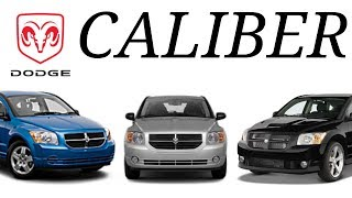 El Dodge CALIBER SE, SXT, R/T Y SRT4
