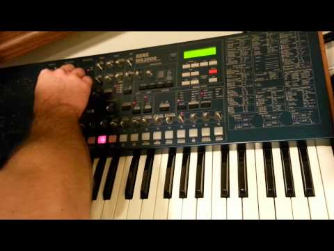 Sounds of the Korg MS2000 (part 1)