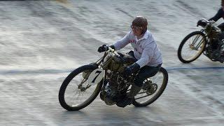 Bielefeld Trackracer Meeting 2016 -Board Track Racer 1918 Murderdrome Cycles
