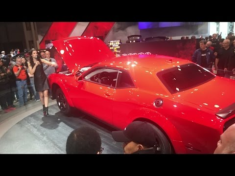 NYIAS 2017 Livestream: DEMON, DURANGO SRT, JEEP TRACKHAWK (Bonus ENGINE REV!!!)