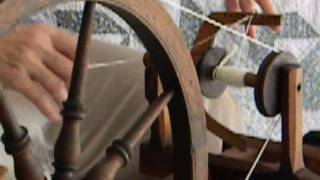 Spinning Wheel Demonstration How To