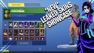 *NEW* UNRELEASED SKINS AND EMOTES | *EARLY* FORTNITE SKIN SHOWCASE !