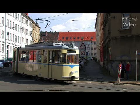 stra enbahn leipzig historische gotha bahn tram youtube. Black Bedroom Furniture Sets. Home Design Ideas