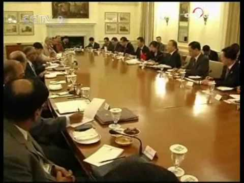 """Share common view on """"global climate change"""" in China-India border talk - CCTV 080809"""