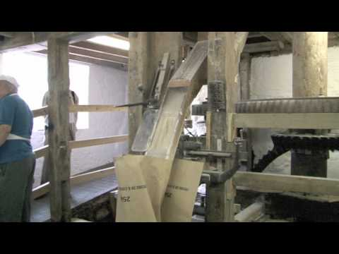 Water Mill Demonstration at Otterton Mill