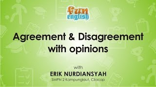 Agreement and Disagreement | English learning video