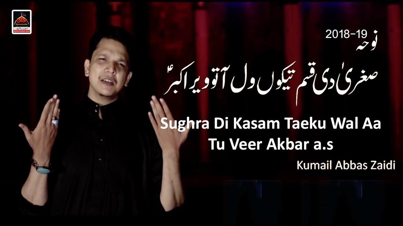 Noha - Sughra Di Kasam Taeku Wal Aa Tu Veer Akbar a s - Kumail Abbas Zaidi  - 2018