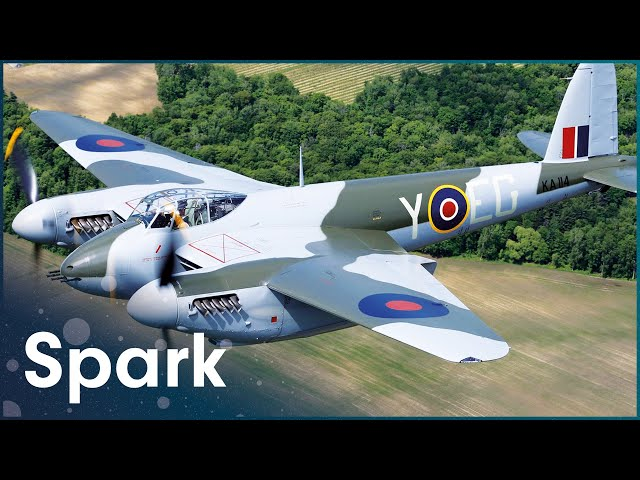 The Revival Of A De Havilland Mosquito | Gaining Altitude - The Mosquito | Spark