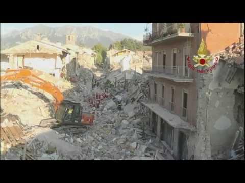 Dois terremotos voltam a atingir a região central da Itália