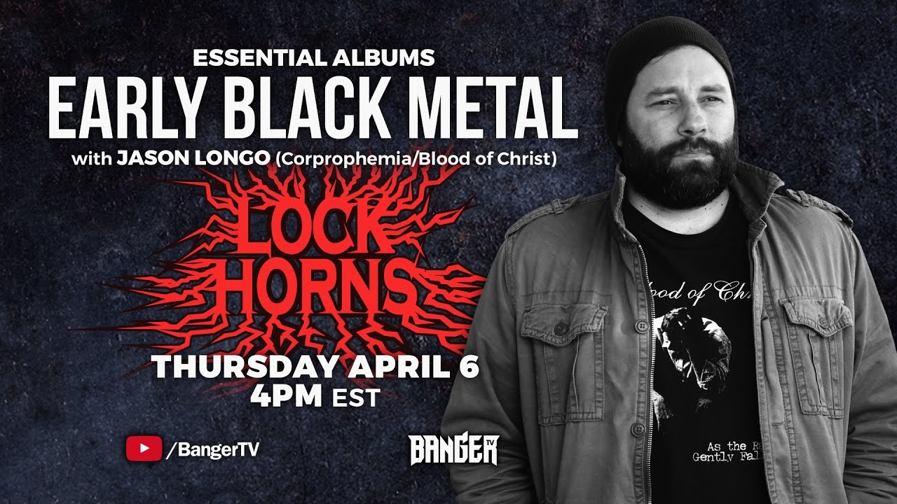 EARLY BLACK METAL ESSENTIAL ALBUMS debate with Jason Longo | LOCK HORNS episode thumbnail