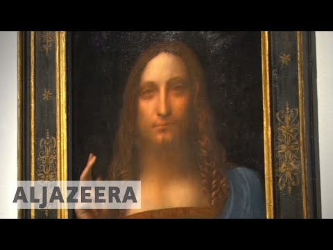 Leonardo da Vinci artwork makes auction history at Christie's