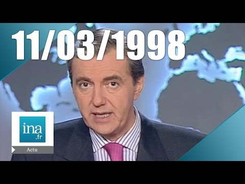 20h France 2 du 11 mars 1998 - Exhumation du corps d'Yves Montand   | Archive INA