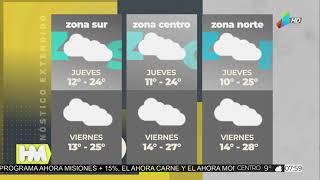 El tiempo para el jueves y viernes en toda la provincia (5 y 6 de agosto)