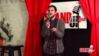 Никита Канарский сцене Stand-up 0522 о девушках.