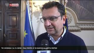 TG VICENZA | 14/11/2019 |  MALTEMPO, E' DI NUOVO ALLERTA METEO