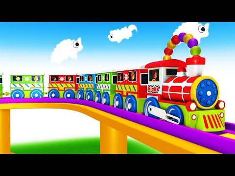 Choo Choo Toy Train Toy Factory Cartoon For Kids - Kids Videos For Kids Cartoon