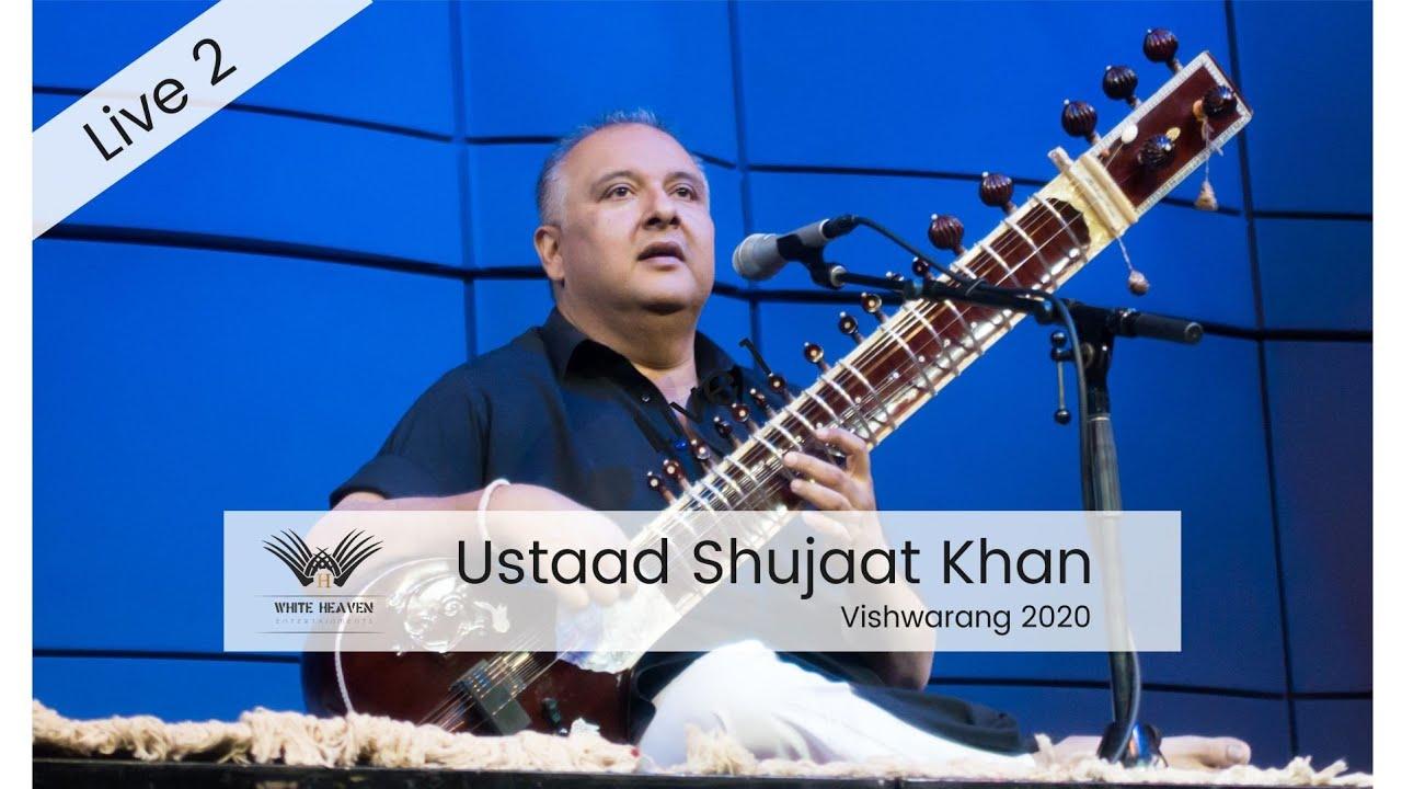 Ustad Shujaat Khan Live at Vishwarang 2020.