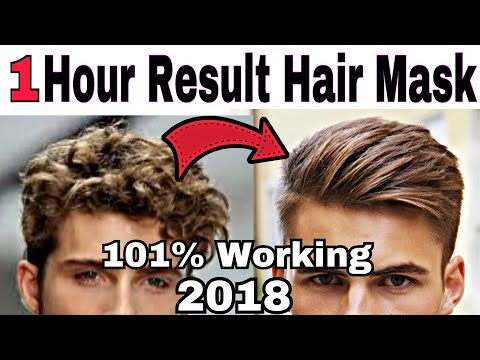 How To Get Smooth Silky Hair in Just one hour at Home   nautral hair mask for hair growth thumbnail