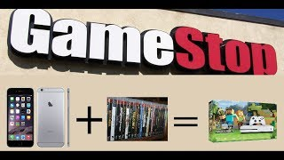 Gamestop Trade-in Lot | Trading In Iphone 6plus For Xbox One S | Epic Trade Value!