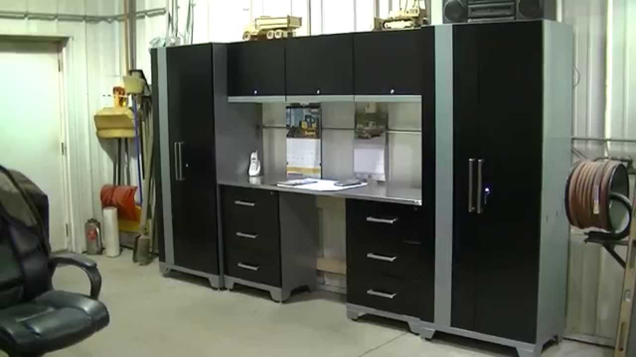 performance cabinets newage plus in cabinet shop system black x garage pd storage plate products new h steel age w diamond