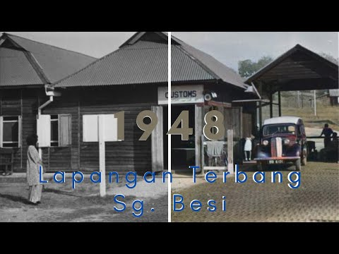 Old Kuala Lumpur Photos In Colour