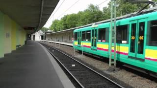 U-Bahn Frankfurt (Main) - U1, U9 Die Strecke nach Ginnheim XXL (2012) (HD)