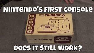 Nintendo's First Console:  Does it Still Work?