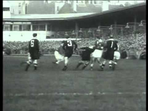 Ken Jones winning try Vs the All Blacks
