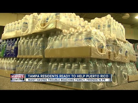 Tampa Bay residents already collecting donations for Puerto Rico after Hurricane Maria