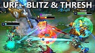URF - Blitzcrank + Thresh Montage