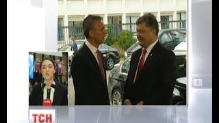 Порошенко відвідав штаб-квартиру НАТО в Брюсселі