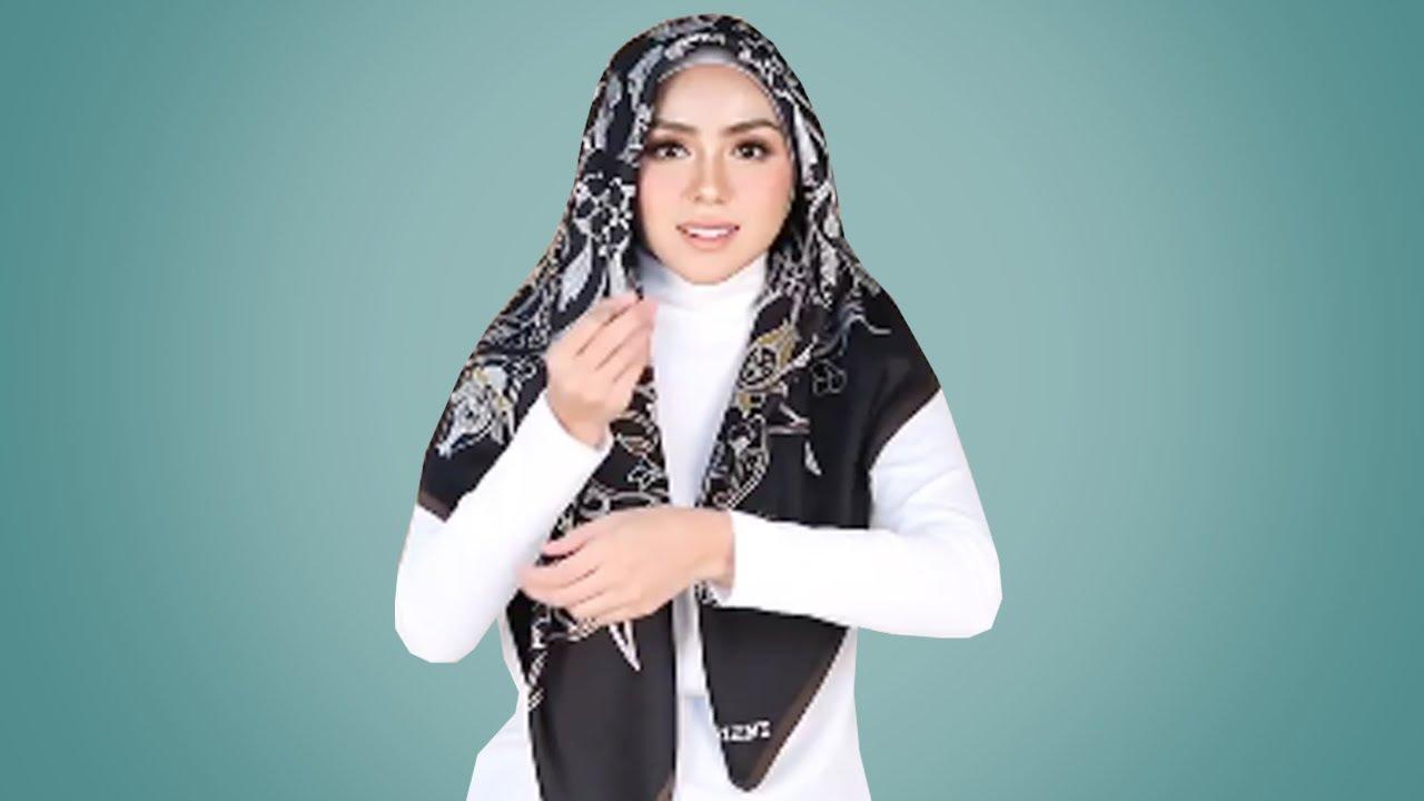 17 Tutorial Hijab Lebaran Paling Simple Cantik Kekinian Cara Pakai Hijab Segi Empat Pashmina Youtube