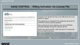 CORTROL Series 102.3 - License Activation Management