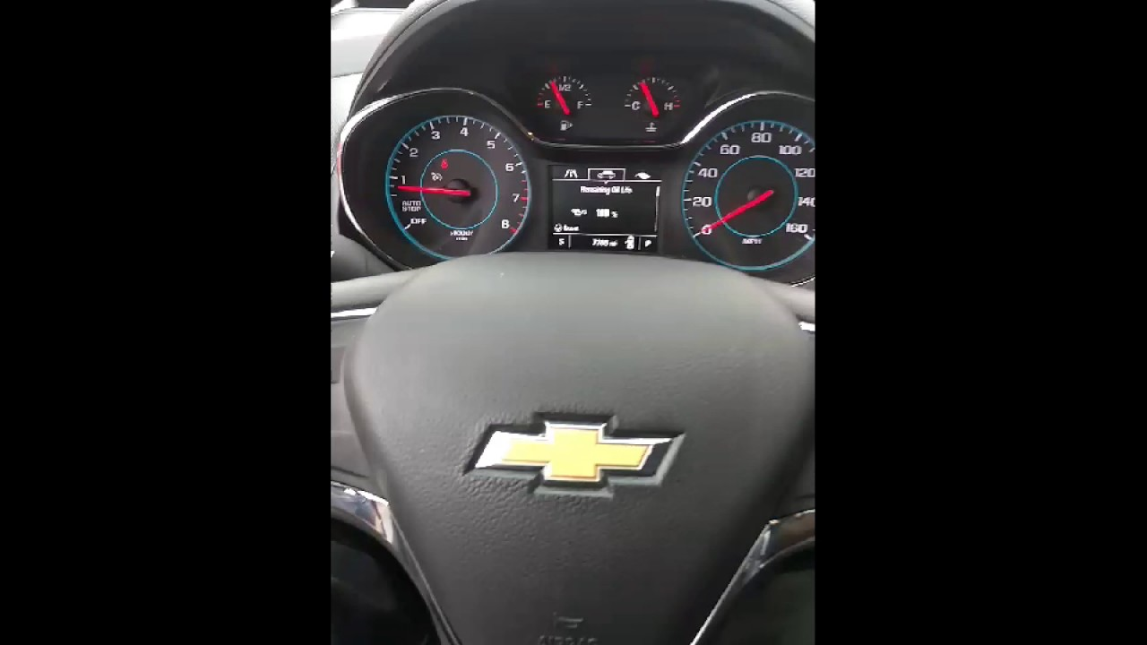 How to open the hood on a 2016 and 2017 Chevy cruze