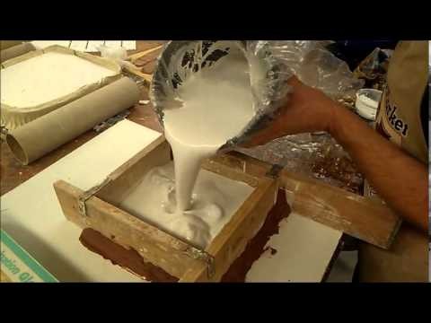 Occ Ceramics Making A Plaster Mold Youtube