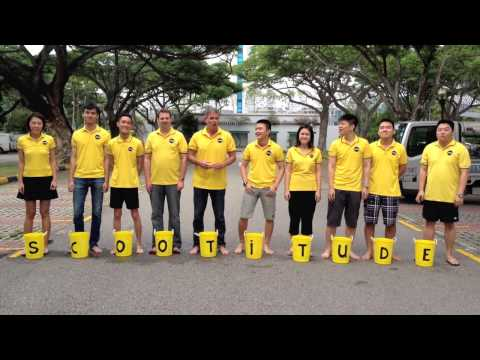 Scoot Team ALS Ice Bucket Challenge 2014