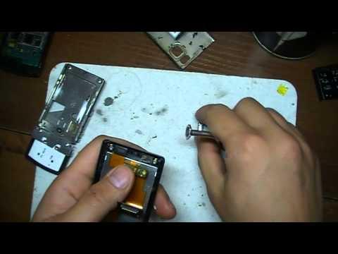 Ремонт Nokia 6500 замена динамика