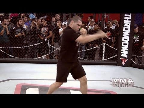 UFC Heavyweight Champ Cain Velasquez: UFC 121 Workout & Interview