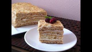 Медовый торт без возни... Быстро и вкусно!