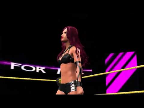 WWE 2K16 Sasha Banks CAW w/ Sasha Banks' Theme (Community Creations)