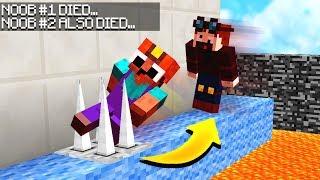IF YOUR FRIEND DIES, YOU DIE! (Minecraft LAVA PARKOUR!)